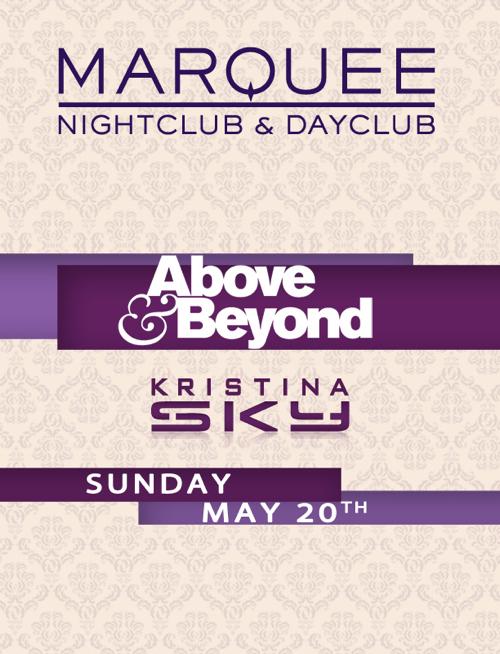 Above & Beyond + KSky @ Marquee [5-20-12] Teaser