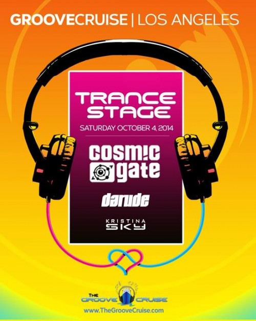 GCLA 2014 Trance Stage Flyer