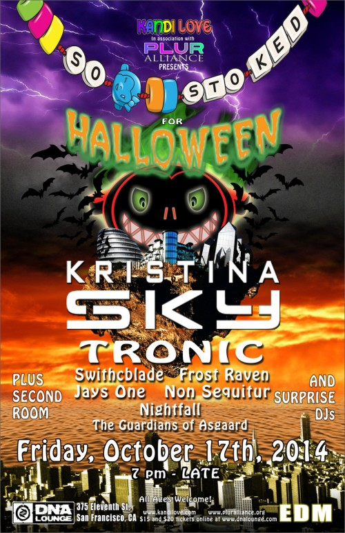 so stoked for halloween 2014 flyer